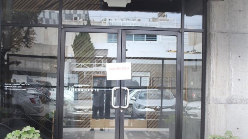 La empresa ubicada en la zona Río luce con sellos de clausura.(Pablo Hurtado)