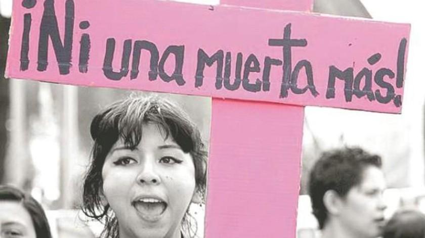 El paro nacional es una protesta en contra de la violencia hacia las mujeres en México.(Archivo)
