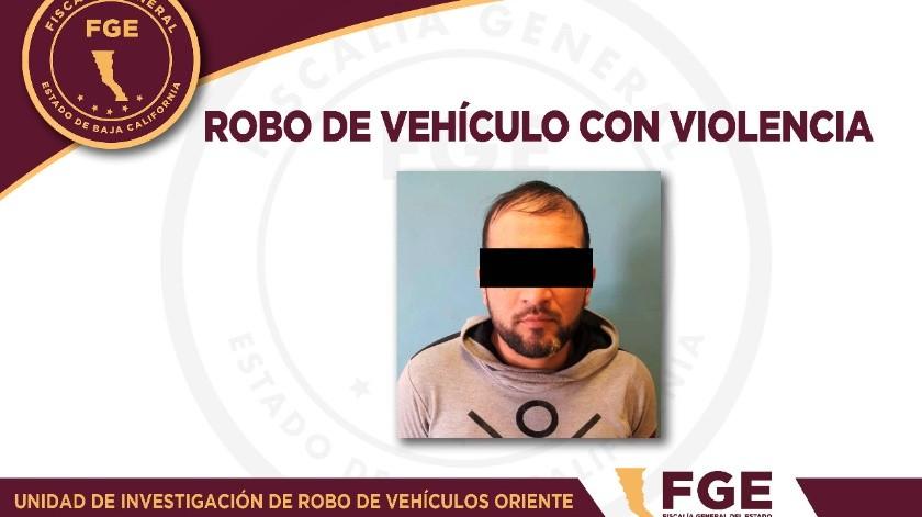 Vinculan a proceso a uno por robo con violencia de vehículo(Cortesía)