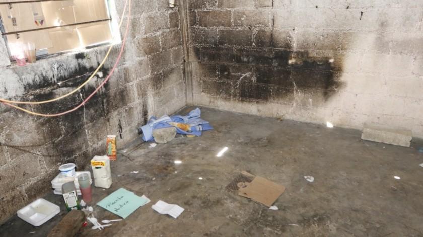 Vivienda en donde estaban los feminicidas de Fátima.(Agencia Reforma)