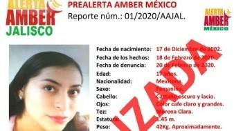 Localizan a dos de cuatro menores desaparecidas en Jalisco