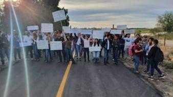 Protestan los estudiantes de Agricultura de Unison