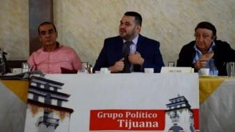 Adalberto González Higuera, secretario de Hacienda, estuvo como invitado en la reunión del Grupo Político Tijuana.