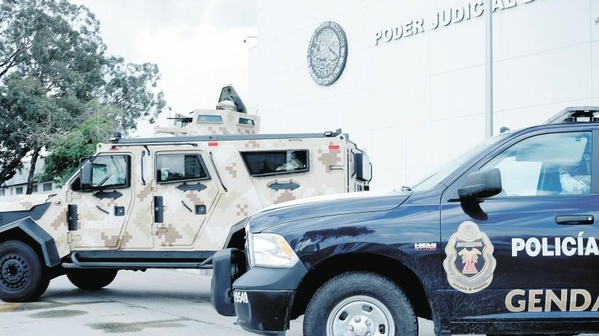 """El narcotraficante Octavio """"Chapito"""" Leal compareció ante un juez federal.(Pablo Hurtado)"""
