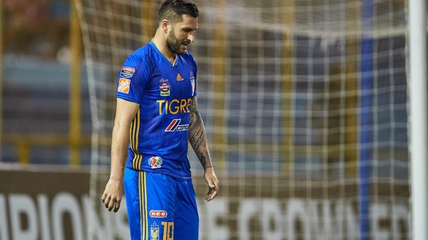 André-Pierre Gignac, delantero de Tigres.(Archivo.)