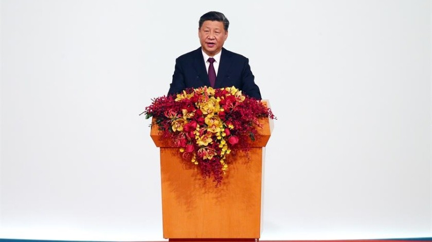 Xi Jinping, presidente de China.(EFE.)