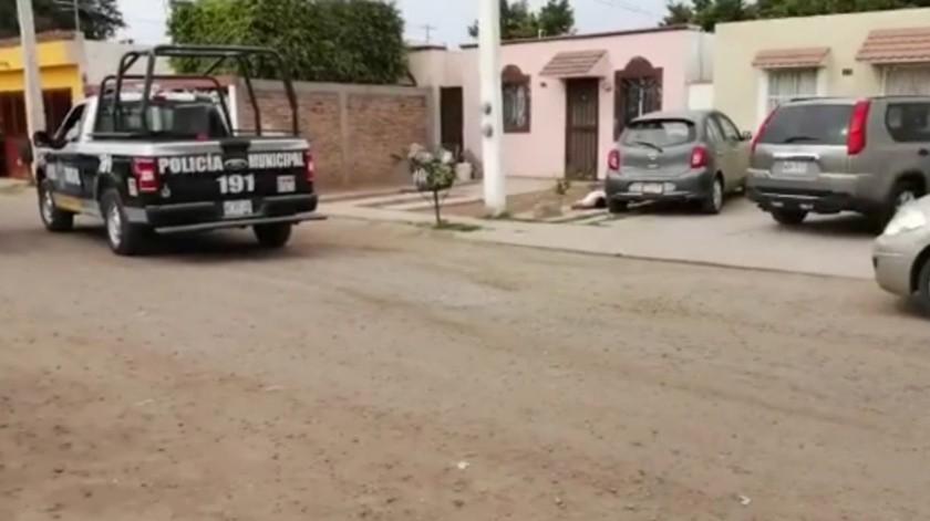 Lesionan a mujer y niño durante balacera en Ciudad Obregón(Captura de pantalla)