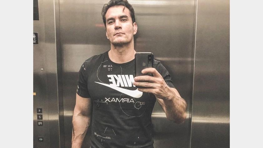 No es la primera vez que el actor comparte imágenes candentes.(Instagram: davidzepeda1)