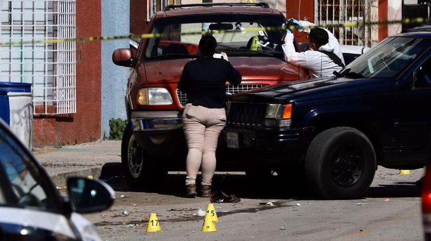 El ataque se registró alrededor de las 8:50 horas del lunes.(Sergio Ortiz)