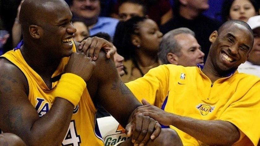 Shaquille O' Neal hace reír a todos en el memorial de Kobe Bryant