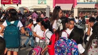 Se registran en línea 117 mil 38 alumnos a preescolar, primaria y secundaria: SEC