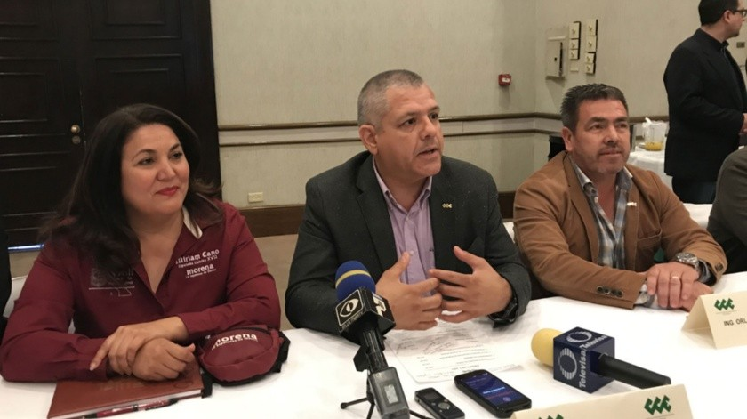 La Diputada Miriam Elizabeth Cano Núñez, se reunió con los miembros del Consejo Coordinador Empresarial de Ensenada (CCEE).(Jayme García)