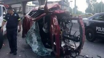 El ciudadano presentó graves lesiones tras el incidente que al parecer fue a causa de un exceso de velocidad.