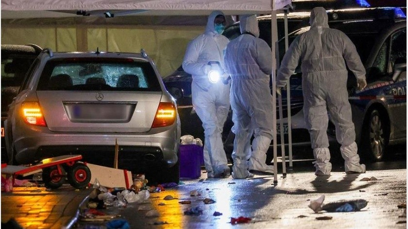La Policía del Norte de Hesse añadió que entre los heridos hay niños y personas de extrema gravedad, aunque al momento no hay ningún fallecido.(EFE)