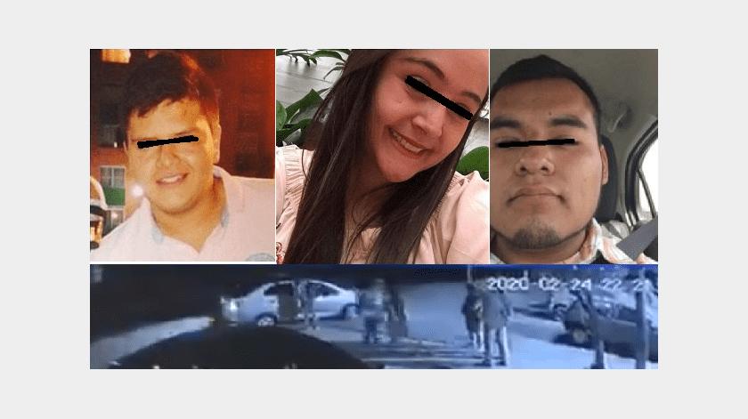 Difunden últimas imágenes de los estudiantes de intercambio asesinados en Puebla(Captura de pantalla)