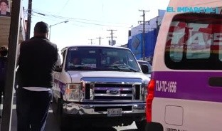 Empresa de transporte ya aplica el #HoyNoCircula en Tijuana.