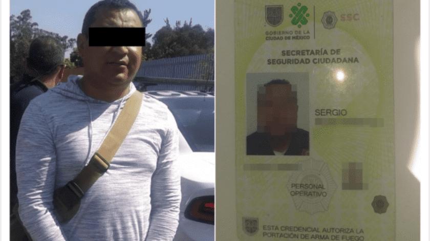 Al ser cuestionado por el incidente, Sergio dijo que todo era un malentendido; sin embargo, fue turnado al Ministerio Público para deslindar responsabilidades.(Especial, vía El Universal)