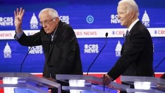 Sanders se enfrenta a ataques durante debate demócrata