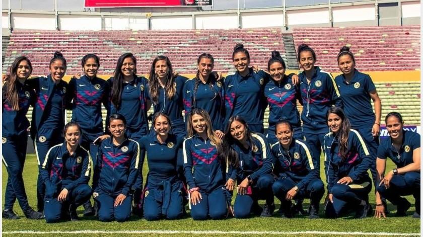 América y Pumas apoyarán en paro nacional de mujeres(Instagram @americafemenil)