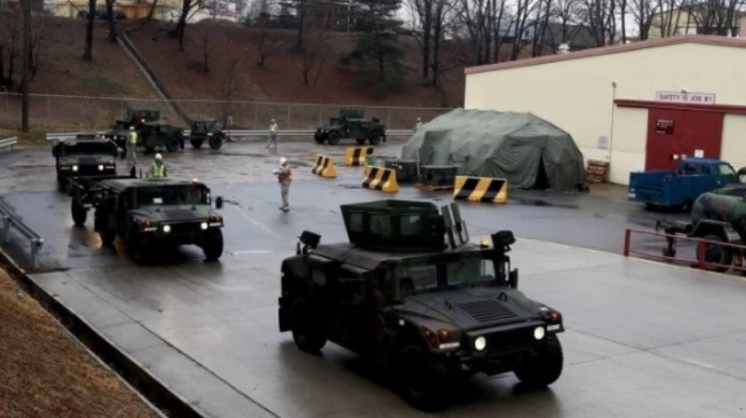 Militar estadounidense da positivo a coronavirus en Corea del Sur(EFE)