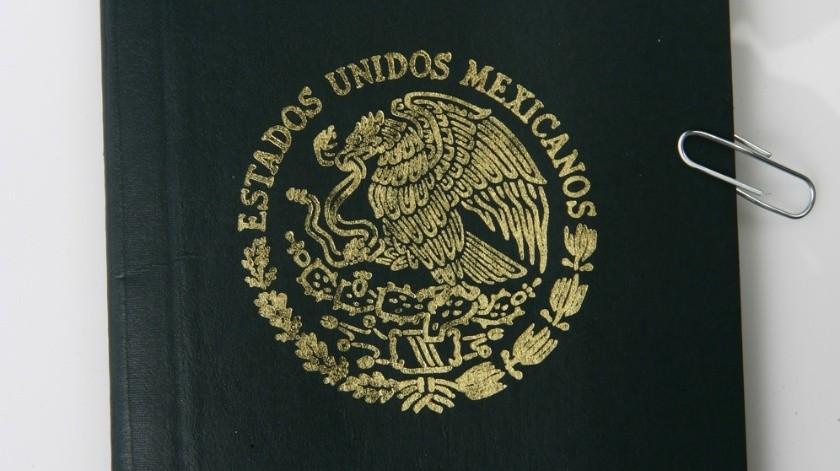 Pasaporte mexicano(Agencia Reforma)