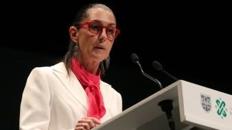 Feminicidios 'golpea' popularidad de  Claudia Sheinbaum