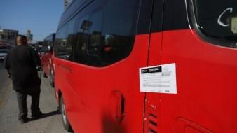 �La Dirección Municipal de Transporte Público ha realizado operativos para inspeccionar que camiones y taxis de ruta tengan su documentación en regla.