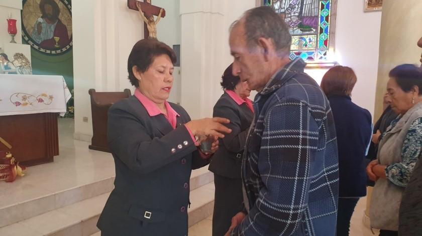 Obregón: Asisten fieles a imposición de cenizas en el Santuario de Guadalupe