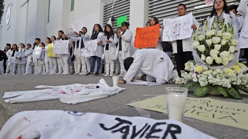Miles de estudiantes se han manifestado por la inseguridad y el asesinato de compañeros.(EFE.)