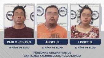 Capturan a 3 por asesinato de alumnos en Puebla; planeaban quemar toda evidencia