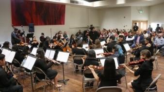 Con la participación de la Orquesta Redes Cerro Colorado se presentó a la convocatoria a la comunidad.