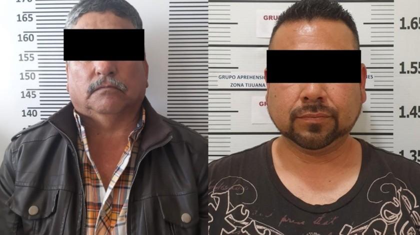 """Dos de los detenidos son Gabino """"N"""", de 54 años y Adán Alfonso """"N"""".(Cortesía)"""