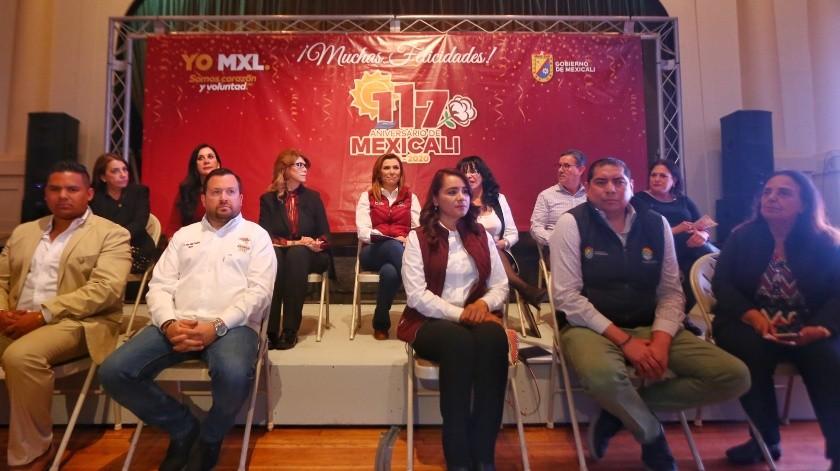 Anuncian más de 100 eventos por el aniversario de Mexicali(Daniel Resendiz)