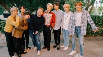 La agrupación K-pop más famosa del momento participó en el