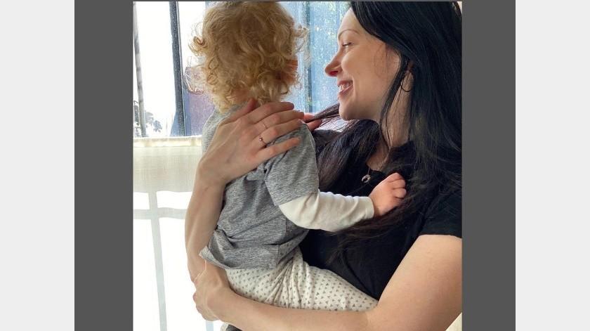 La actriz compartió en redes la llegada de su segundo hijo.(Instagram: lauraprepon)