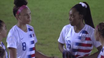 Selección femenil de E.U golea a Honduras en Premundial