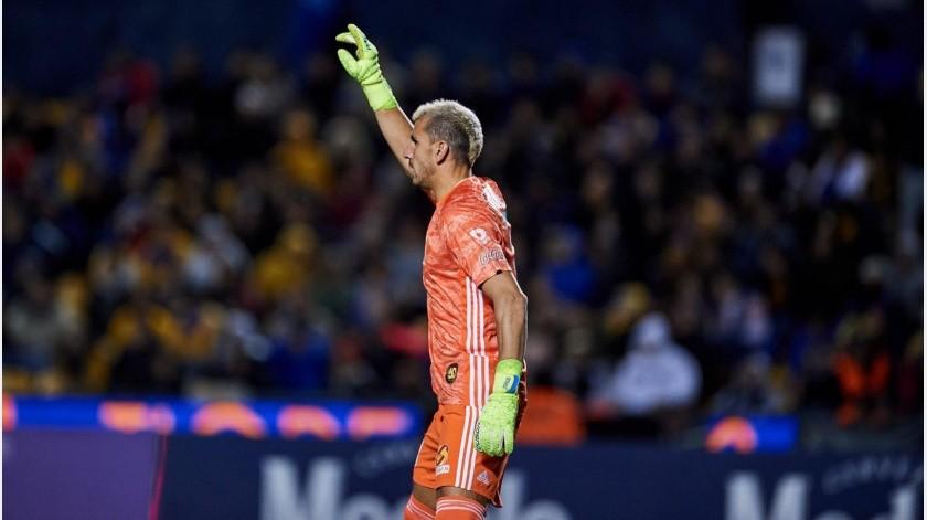 ¡Milagroso Guzmán!; con gol del portero Tigres avanzan a los cuartos de final de la Concachampions(Twitter)