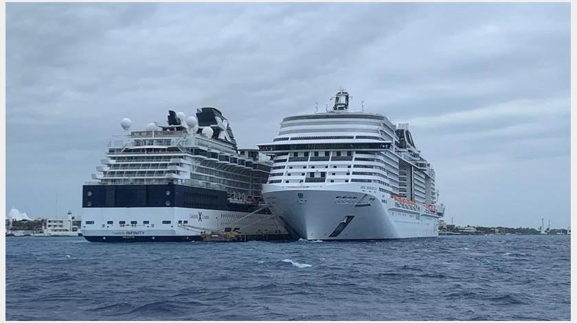 Coronavirus: Emprenden protocolo de sanidad en crucero en Cozumel(EFE)