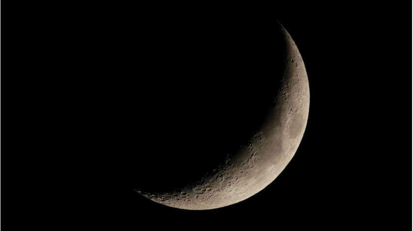 """La Luna y Venus se fundirán en """"beso celestial""""; ya puedes ver el espectáculo(Pixabay)"""