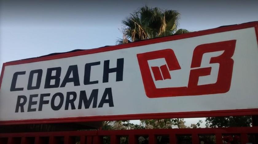 Maestros sindicalizados del Cobach podrían cerrar los planteles de Villa de Seris y Reforma.(Google Maps.)