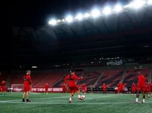 Los Xolos entrenaron ayer en el Estadio Caliente.