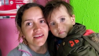 Higiene para cuidar a mi hijo: Migrante salvadoreña