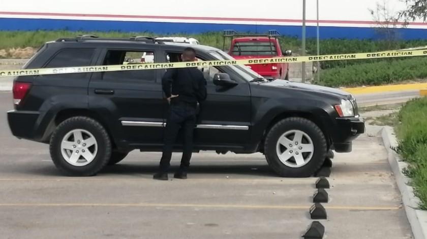 El ataque ocurrió aproximadamente a las 14:00 h(Margarito Martínez)