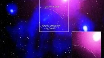 Encuentran restos antiguos de una enorme explosión galáctica