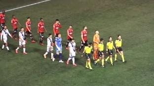 Con gol de Christian Tabó. el Puebla derrota al Club Tijuana en el Estadio Caliente.