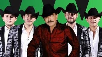 """Gracias a la tecnología, la agrupación norteña estrenó un tema con el""""Rey del Jaripeo""""."""