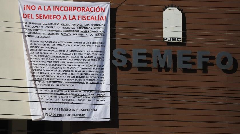 Actualmente el Semefo forma parte del Poder Judicial del Estado.(Sergio Ortiz)