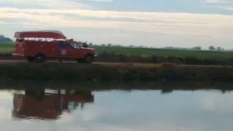 Localizan a hombre sin vida en canal bajo en Valle del Yaqui