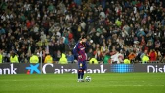Así jugó el Barcelona el partido de Liga contra el Real Madrid en el Santiago Bernabéu.