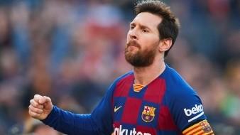 Después del póker de la pasada jornada ante el Eibar, Messi se marchó de vacío del Bernabéu.